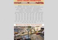 Swiss Trains Promotion