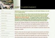 Garden Trains Information