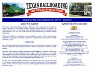 Home - Texas Railroading Heritage Museum At Tomball