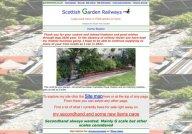 Scottish Garden Railways - Large Scale Model Trains In YOUR Garden Or Home