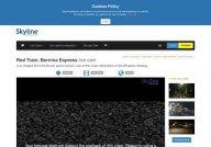 Live Cam Red Train, Bernina Express