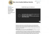 Bay Area Garden Railway Society - Home Page