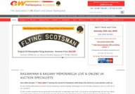 Auction Site For Railway Memorabillia