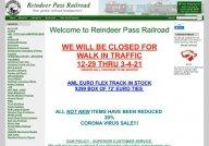 Reindeer Pass Garden Railroad Supply