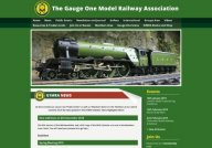 Gauge 1 model railway association.