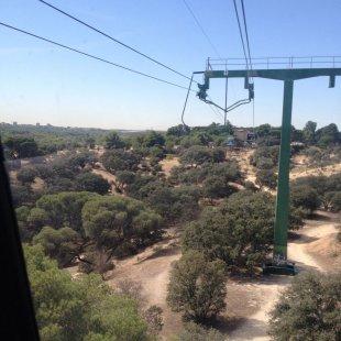Approaching Casa De Campo Park