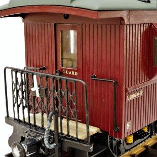 Claptowte Railway – Passenger Coach No 8