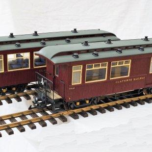 Claptowte Railway - Passenger Coach Nos 8 & 9