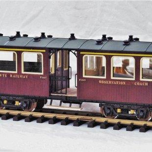 Claptowte Railway – Passenger Coach No 15
