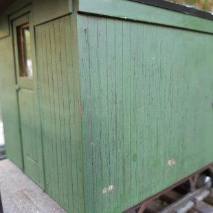 Slightly weathered sidings