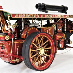 Burrell Scenic Showman's Engine - Earl Beatty