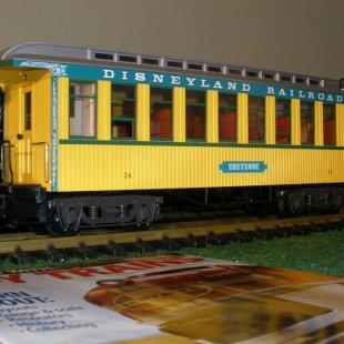 Disneyland Railroad Cheyenne Coach (LGB)/Imagination Station