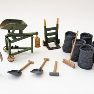 Claptowte Railway Coal Staithes Accessories